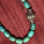 Silver Drum Bead